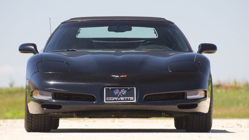 2000 Chevrolet Corvette Convertible presented as lot F61 at Des Moines, IA 2010 - image3
