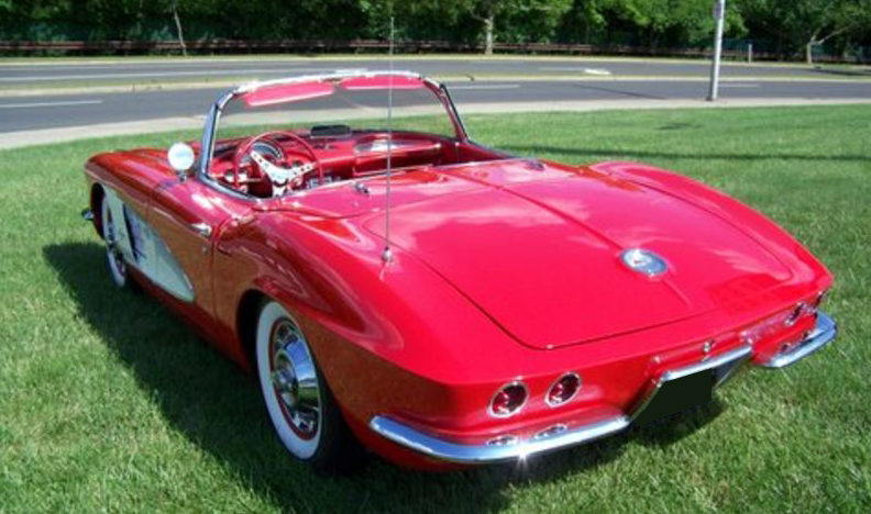 1961 Chevrolet Corvette Convertible 283/245 HP, 4-Speed   presented as lot F123 at Des Moines, IA 2010 - image2