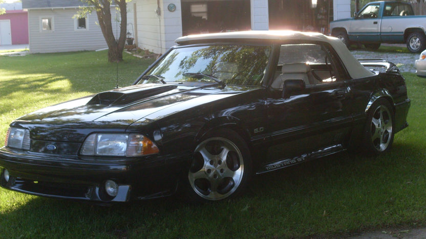 1990 Ford Mustang Cobra Convertible 5-Speed | Mecum Auctions