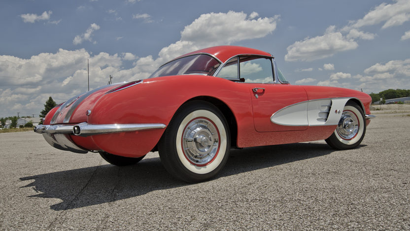 1958 Chevrolet Corvette 283/230 HP, Automatic presented as lot F135 at Des Moines, IA 2012 - image2