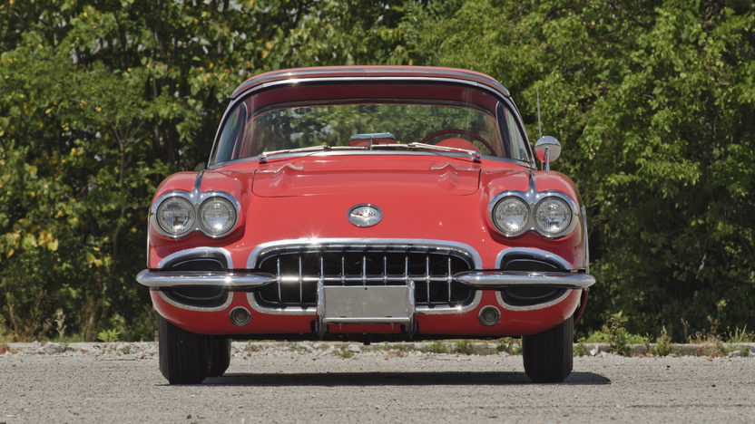 1958 Chevrolet Corvette 283/230 HP, Automatic presented as lot F135 at Des Moines, IA 2012 - image3