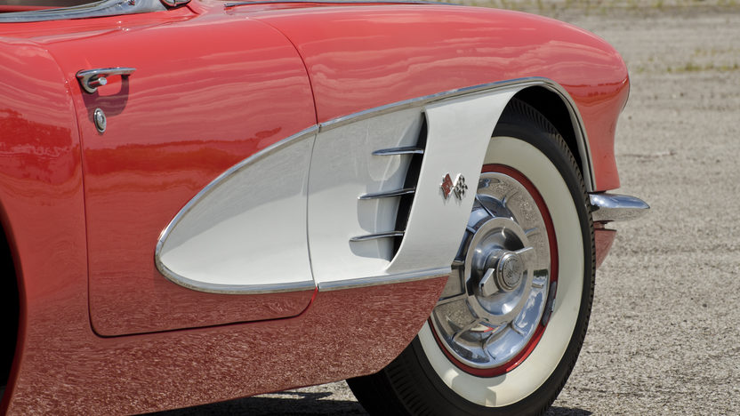 1958 Chevrolet Corvette 283/230 HP, Automatic presented as lot F135 at Des Moines, IA 2012 - image8