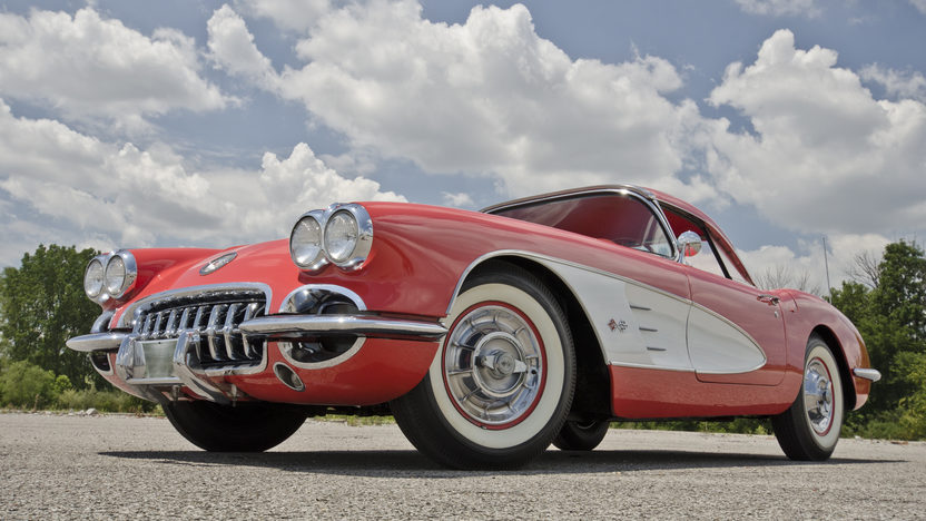 1958 Chevrolet Corvette 283/230 HP, Automatic presented as lot F135 at Des Moines, IA 2012 - image9