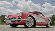 1958 Chevrolet Corvette 283/230 HP, Automatic presented as lot F135 at Des Moines, IA 2012 - thumbail image9