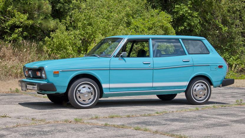 1976 Subaru Dl Station Wagon Mecum Des Moines 2012 S201