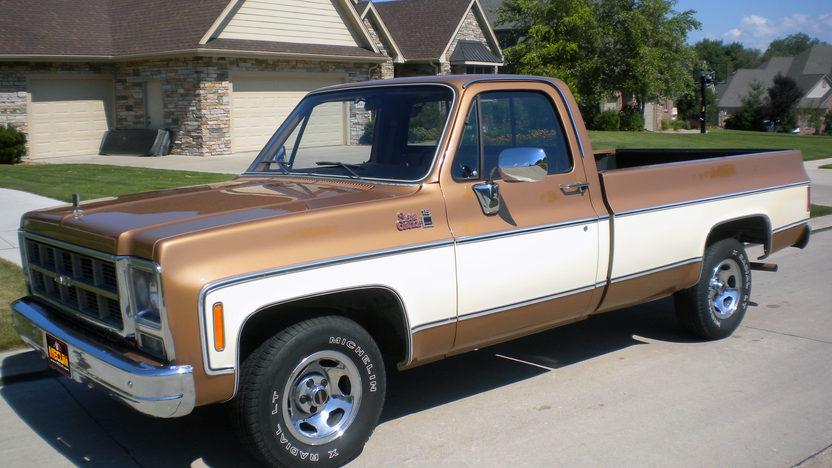 1979 Gmc Sierra Grande Pickup Mecum Des Moines 2012 F241