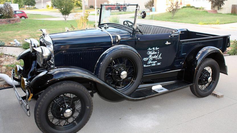 1931 Ford Model A Roadster Pickup Mecum Kansas City 2016