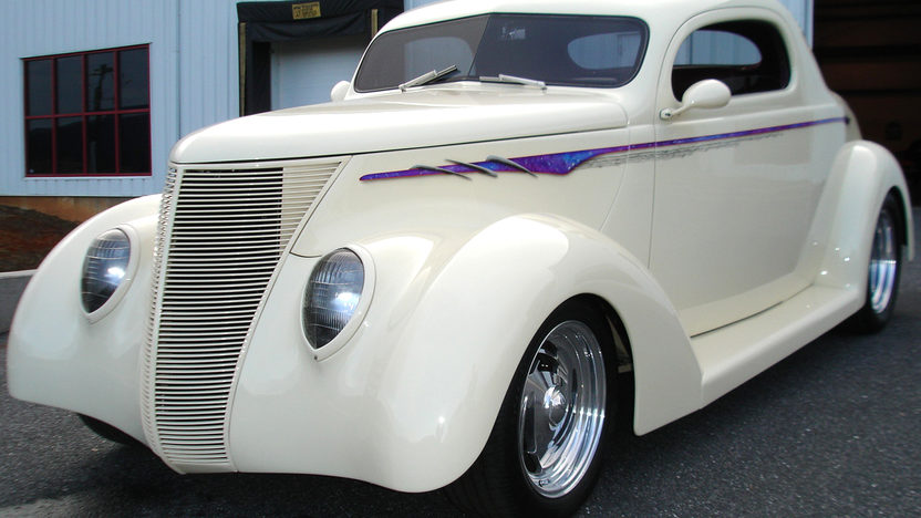 1937 ford 3 window coupe street rod 350 hp automatic for 1937 ford 3 window