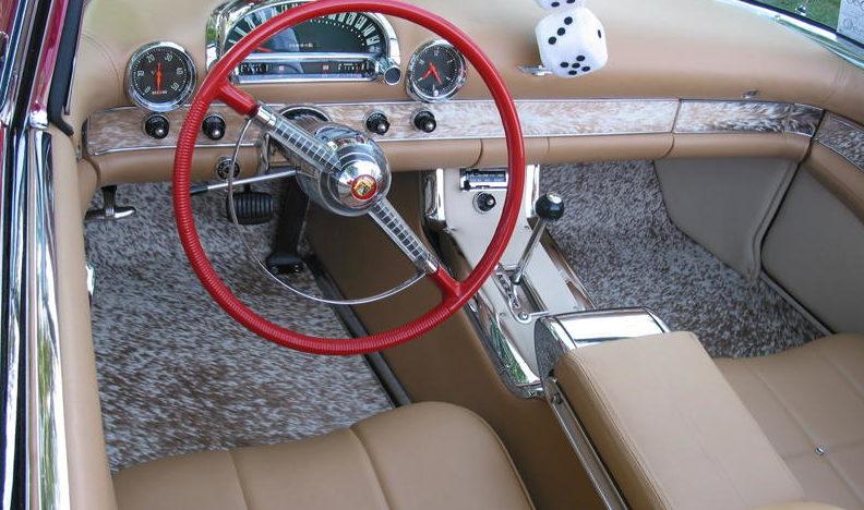 1955 Ford Thunderbird Convertible 292 CI, Automatic presented as lot S55 at Kansas City, MO 2010 - image2