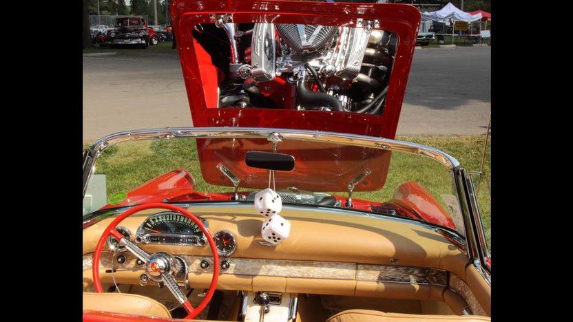 1955 Ford Thunderbird Convertible 292 CI, Automatic presented as lot S55 at Kansas City, MO 2010 - image5