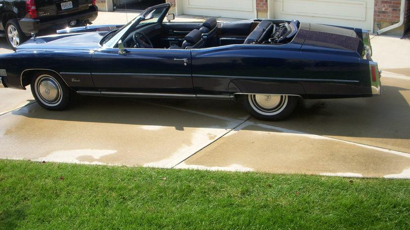 1974 Cadillac Eldorado Convertible 500 CI, Automatic presented as lot F9 at Kansas City, MO 2010 - image2