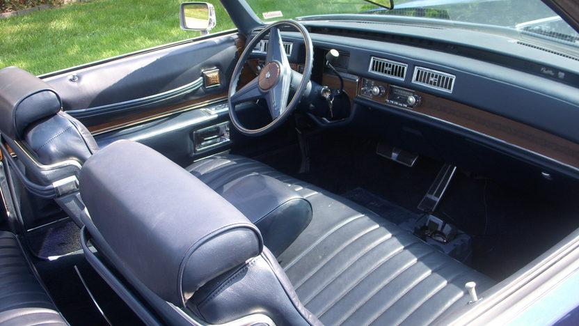 1974 Cadillac Eldorado Convertible 500 CI, Automatic presented as lot F9 at Kansas City, MO 2010 - image5