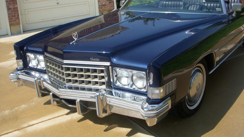 1974 Cadillac Eldorado Convertible 500 CI, Automatic presented as lot F9 at Kansas City, MO 2010 - image6