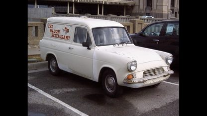 1967 Ford Anglia Sedan Delivery