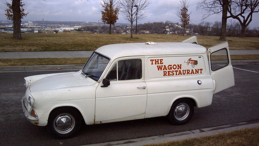 1967 Ford Anglia Sedan Delivery 4-Speed presented as lot F17 at Kansas City, MO 2010 - image2