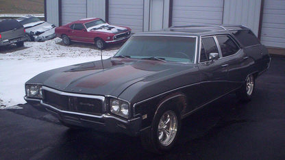 1968 Buick Sport Station Wagon