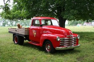 1952 Chevrolet Dually Flatbed Pickup