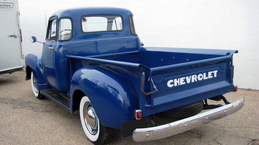 1952 Chevrolet 3100 Pickup presented as lot F33 at Kansas City, MO 2010 - image2