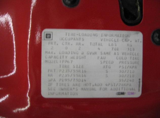 1991 Chevrolet Camaro Convertible presented as lot F61 at Kansas City, MO 2010 - image8