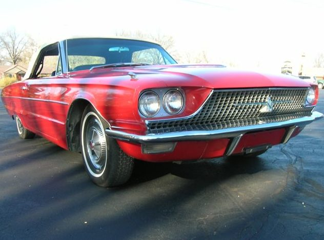 1966 Ford Thunderbird Convertible 390/315 HP, 3-Speed Automatic presented as lot F75 at Kansas City, MO 2010 - image2