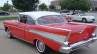 1957 Chevrolet Bel Air 2-Door Hardtop 350 CI, 4-Speed presented as lot F77 at Kansas City, MO 2010 - thumbail image8