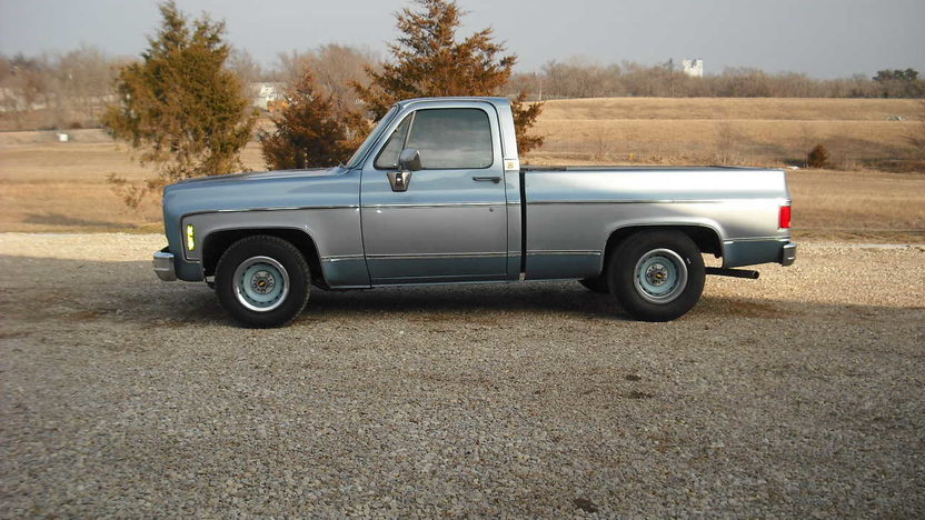 1980 Chevrolet C10 Pickup 350 CI presented as lot F80 at Kansas City, MO 2010 - image7