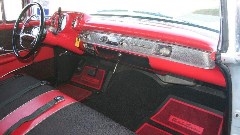 1957 Chevrolet Nomad Wagon 350/350 HP, Automatic presented as lot F84 at Kansas City, MO 2010 - image4