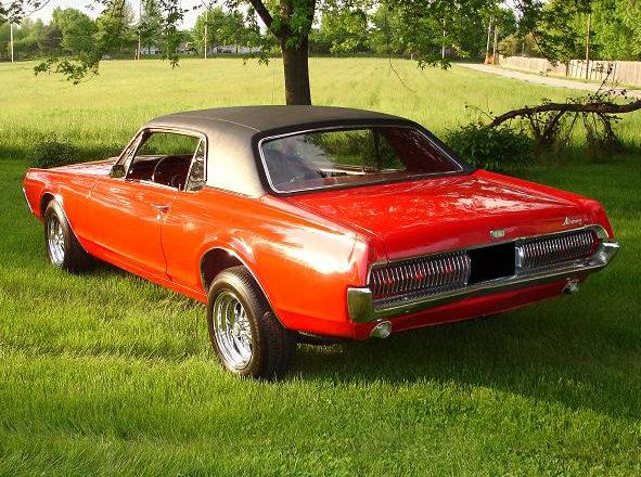 1967 Mercury Cougar 289 CI presented as lot F85 at Kansas City, MO 2010 - image2