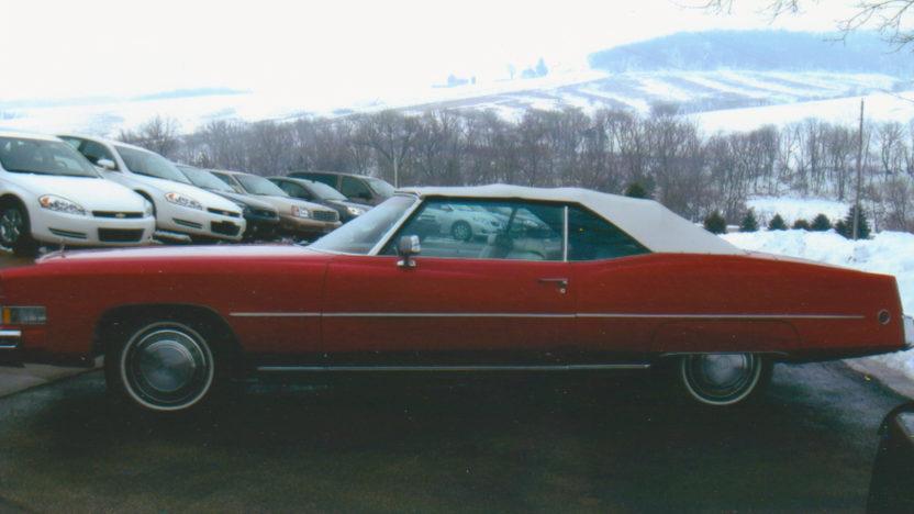1973 Cadillac Eldorado Convertible 500 CI, Automatic presented as lot F94 at Kansas City, MO 2010 - image2