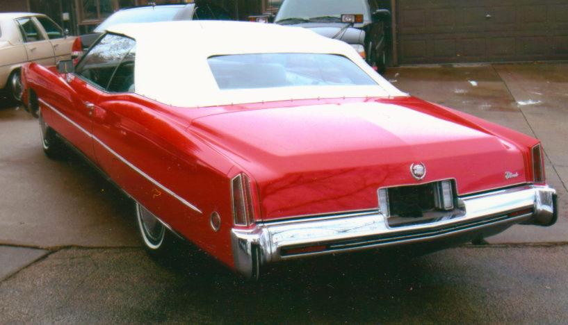 1973 Cadillac Eldorado Convertible 500 CI, Automatic presented as lot F94 at Kansas City, MO 2010 - image3