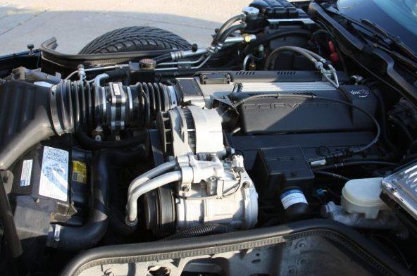 1996 Chevrolet Corvette Convertible 350/300 HP, Automatic presented as lot F96 at Kansas City, MO 2010 - image7