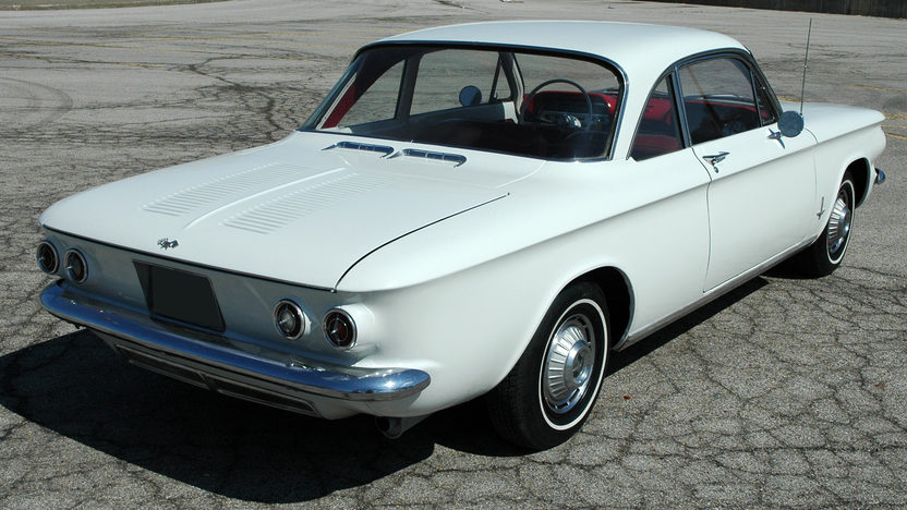 1962 Chevrolet Corvair 4-Speed  presented as lot F97 at Kansas City, MO 2010 - image2