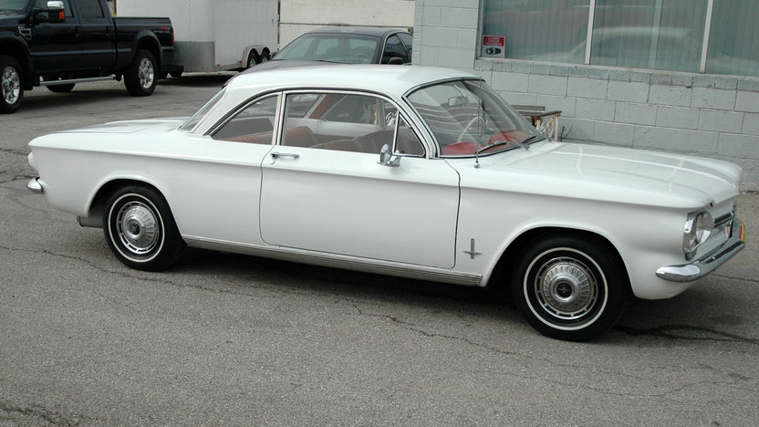 1962 Chevrolet Corvair 4-Speed  presented as lot F97 at Kansas City, MO 2010 - image6