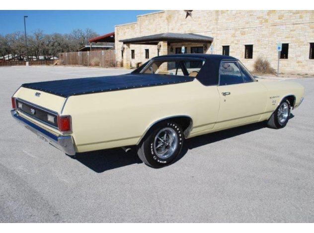 1970 Chevrolet El Camino SS Pickup 396 CI, Automatic presented as lot F127 at Kansas City, MO 2010 - image2