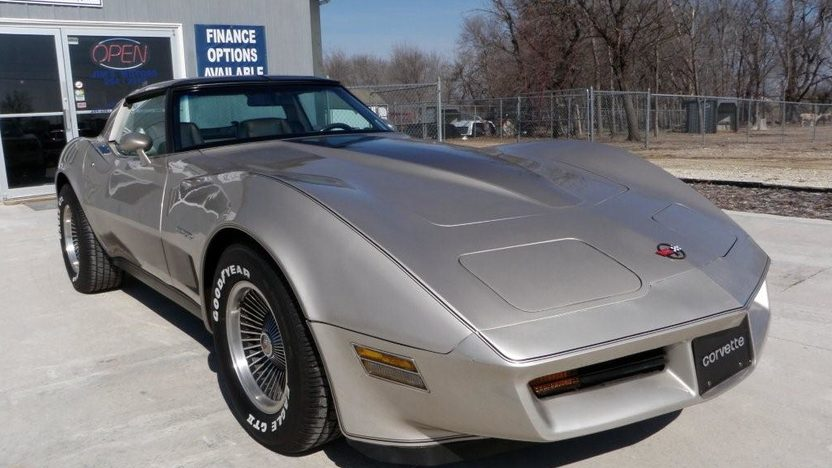 1982 Chevrolet Corvette Collector Edition 350 CI, Automatic presented as lot F134 at Kansas City, MO 2010 - image2