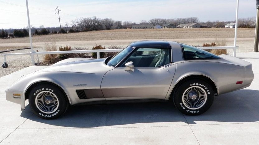 1982 Chevrolet Corvette Collector Edition 350 CI, Automatic presented as lot F134 at Kansas City, MO 2010 - image3
