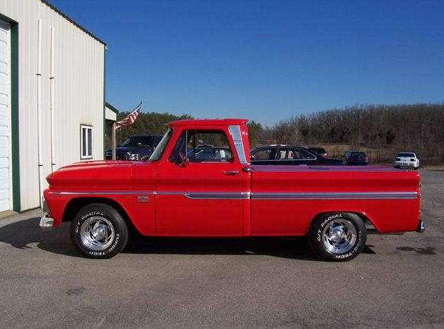 1966 Chevrolet C10 Pickup 402 CI, Automatic presented as lot F152 at Kansas City, MO 2010 - image2