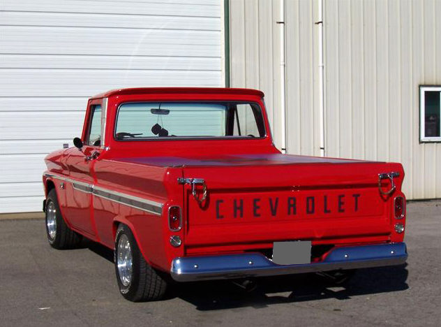 1966 Chevrolet C10 Pickup 402 CI, Automatic presented as lot F152 at Kansas City, MO 2010 - image3