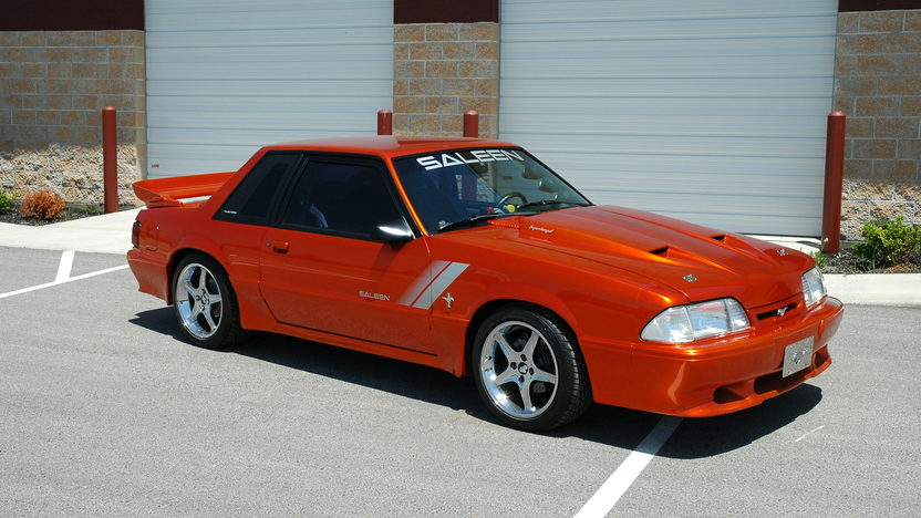 1989 Ford Mustang Saleen Coupe 5-Speed presented as lot F181 at Kansas City, MO 2010 - image2