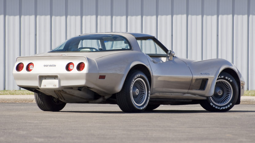 1982 Chevrolet Corvette Collector Series 210 HP, 4-Speed Automatic presented as lot F183 at Kansas City, MO 2010 - image2