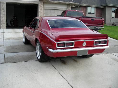1968 Chevrolet Camaro 2-Door Hardtop 454/505 HP, 4-Speed Automatic presented as lot F197 at Kansas City, MO 2010 - image3