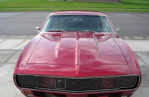 1968 Chevrolet Camaro 2-Door Hardtop 454/505 HP, 4-Speed Automatic presented as lot F197 at Kansas City, MO 2010 - image4