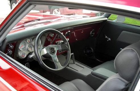 1968 Chevrolet Camaro 2-Door Hardtop 454/505 HP, 4-Speed Automatic presented as lot F197 at Kansas City, MO 2010 - image5