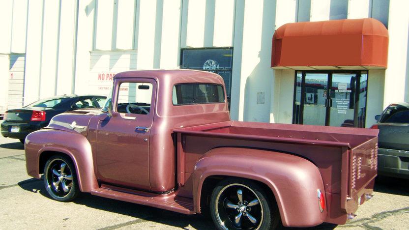 1956 Ford Custom Pickup 360/400 HP presented as lot F212 at Kansas City, MO 2010 - image2
