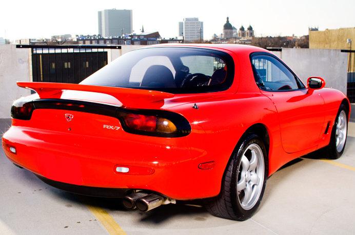1993 Mazda RX-7 R2 365 HP, 5-Speed presented as lot F217 at Kansas City, MO 2010 - image2