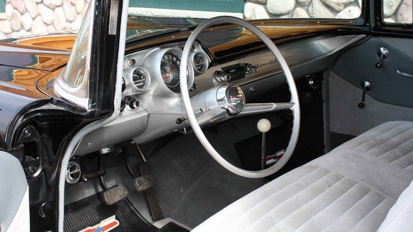 1957 Chevrolet Bel Air 2-Door Sedan 350 CI, 4-Speed  presented as lot F232 at Kansas City, MO 2010 - image3