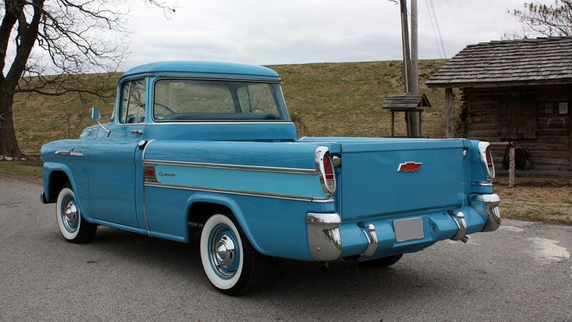 1958 Chevrolet Cameo Pickup 3-Speed presented as lot F241 at Kansas City, MO 2010 - image2