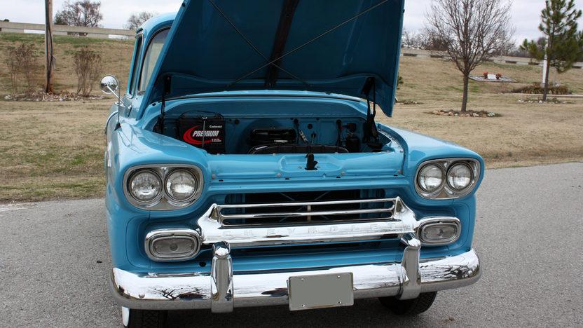 1958 Chevrolet Cameo Pickup 3-Speed presented as lot F241 at Kansas City, MO 2010 - image7