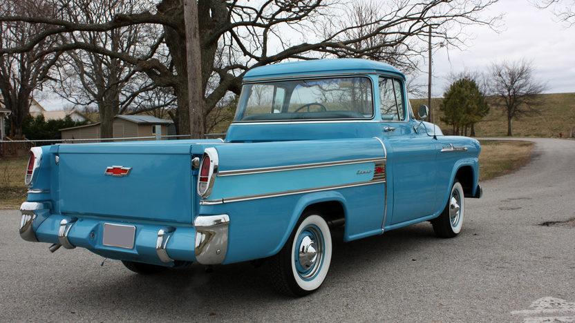 1958 Chevrolet Cameo Pickup 3-Speed presented as lot F241 at Kansas City, MO 2010 - image8