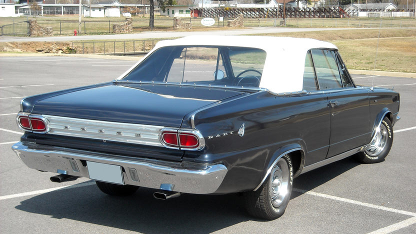 1966 Dodge Dart GT Convertible 318 CI, 3-Speed Automatic presented as lot F250 at Kansas City, MO 2010 - image2